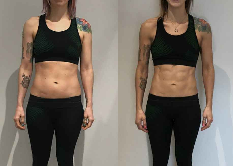 8 week fitness challenge before and after 13