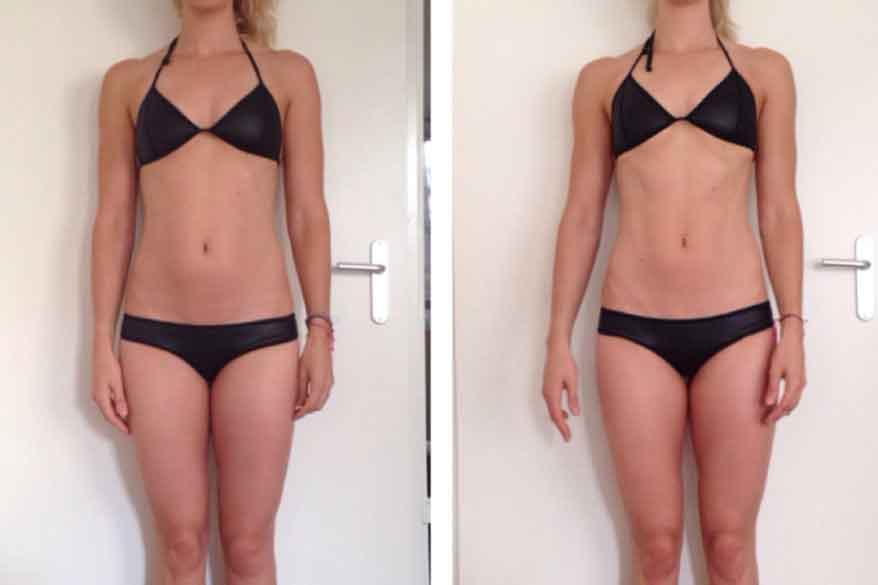 8 week fitness challenge before and after 3