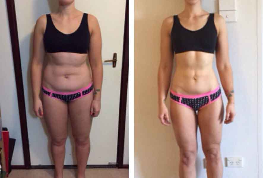 8 week fitness challenge before and after 4