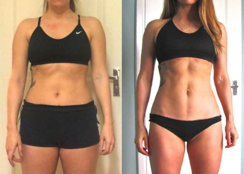 8 week fitness challenge before and after 6