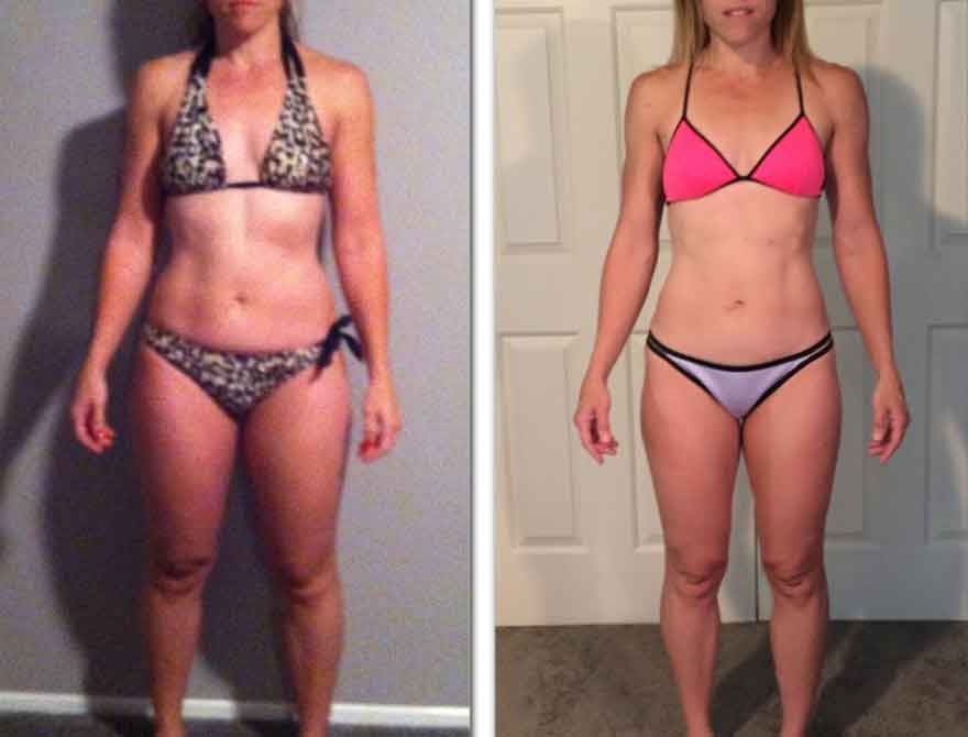 8 week fitness challenge before and after 7