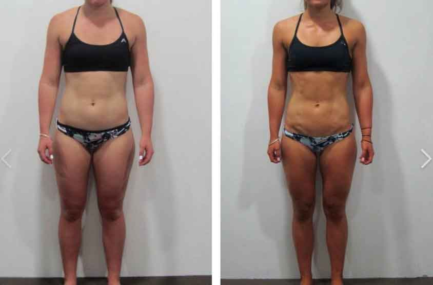 8 week fitness challenge before and after 9
