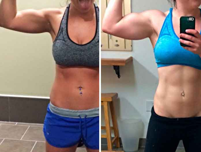 Fitness transformations 10