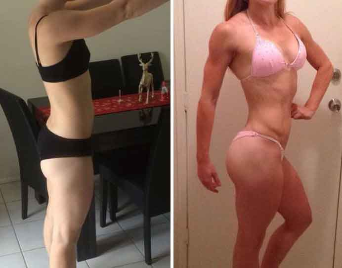 Fitness transformations 12