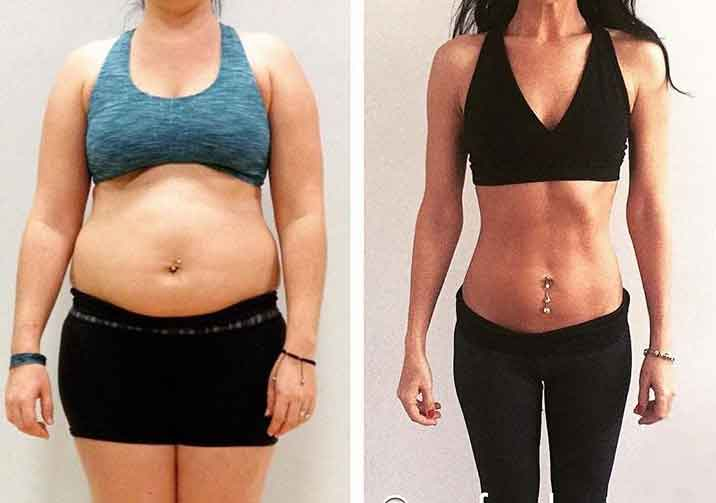 Vegan fitness before and after 11