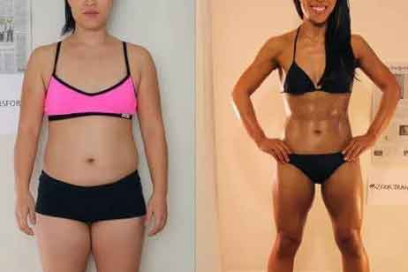 Vegan fitness before and after 6