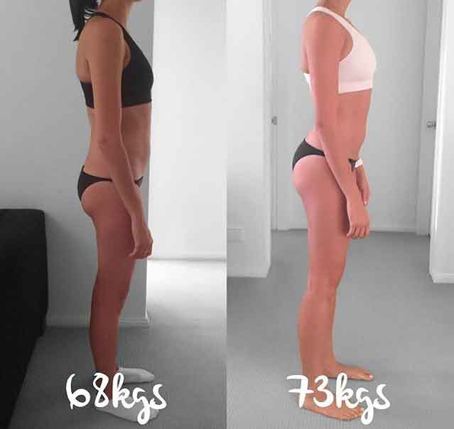 Before and after fitness photos 5