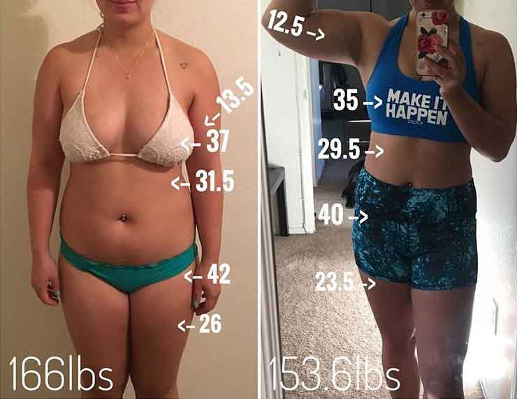 Before and after fitness photos 6