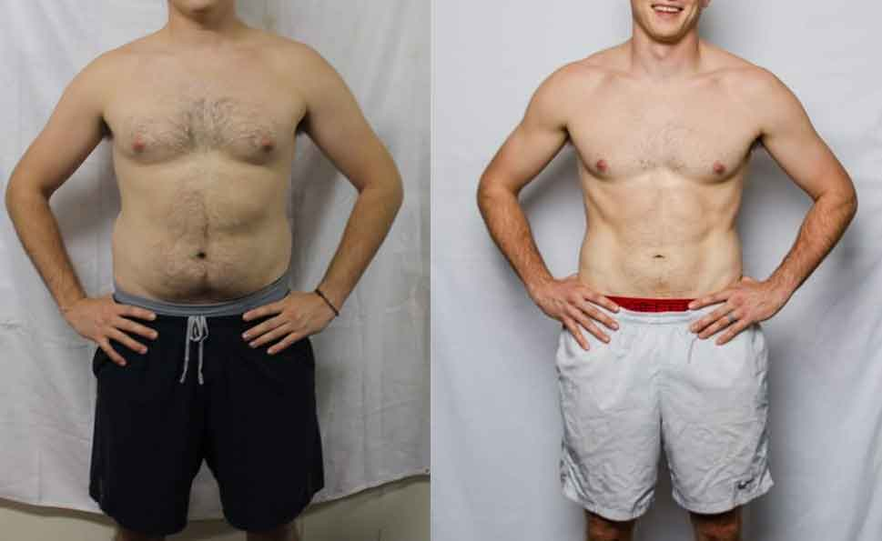 Bodyweight fitness 5 - Fitness before and after