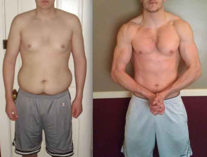 Bodyweight fitness 9 - Fitness before and after
