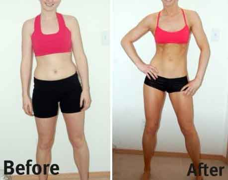 Fitness before and after meal 2