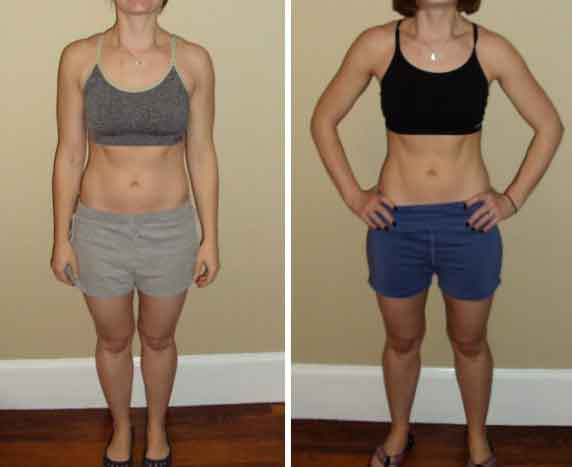 Fitness before and after meal 8