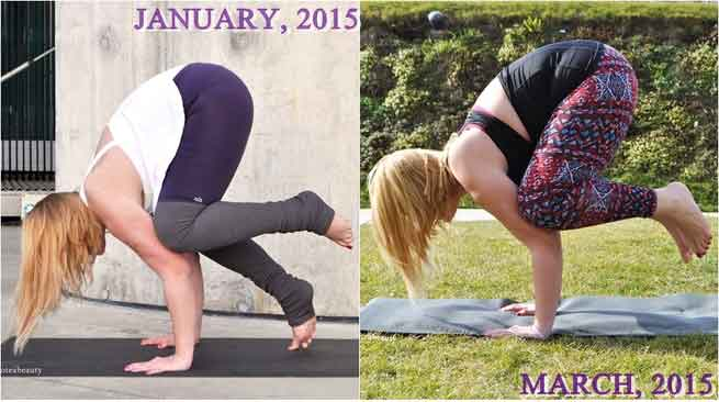Before yoga and after yoga 11