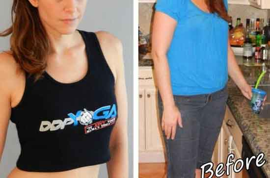 Before yoga and after yoga 12