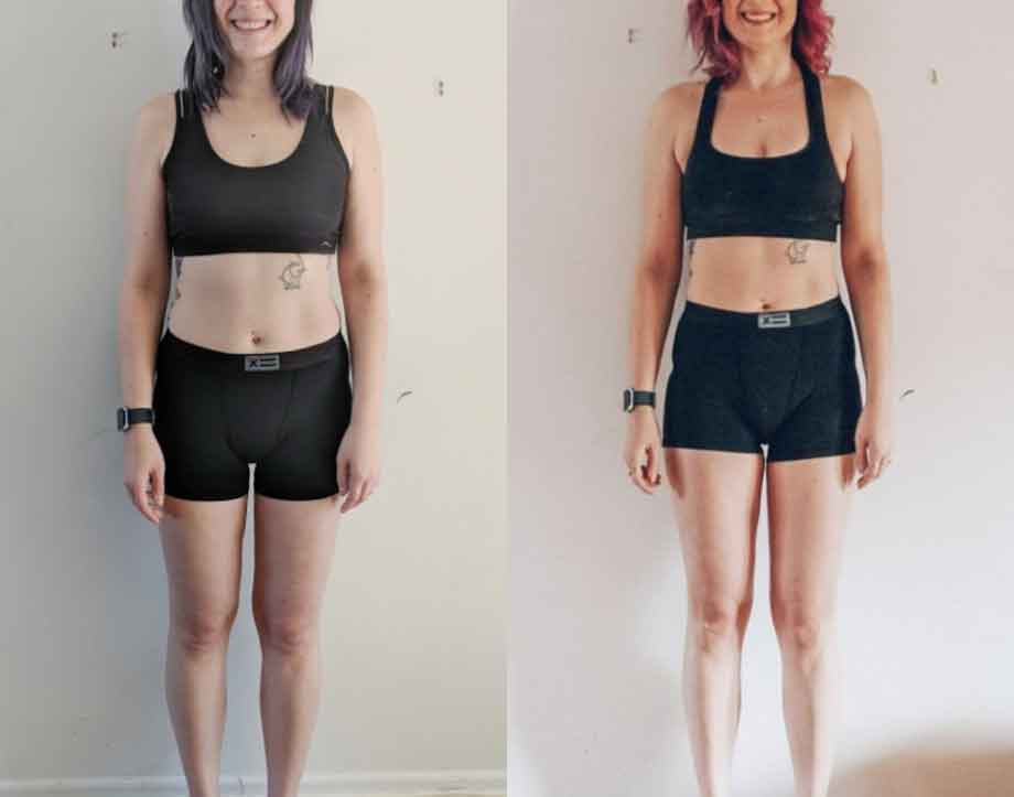 Before yoga and after yoga 2
