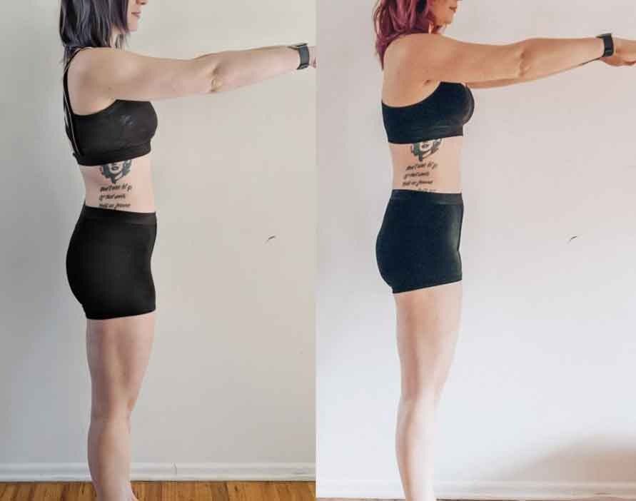 Before yoga and after yoga 5