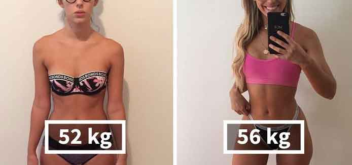 Fitness tips to gain weight 1