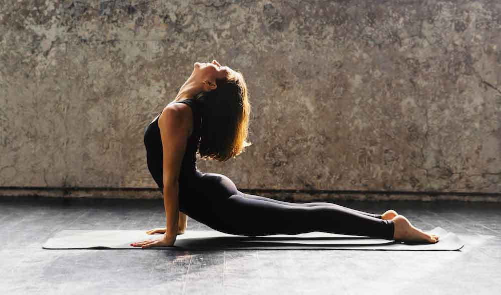 Vinyasa flow yoga 13 - Fitness before and after