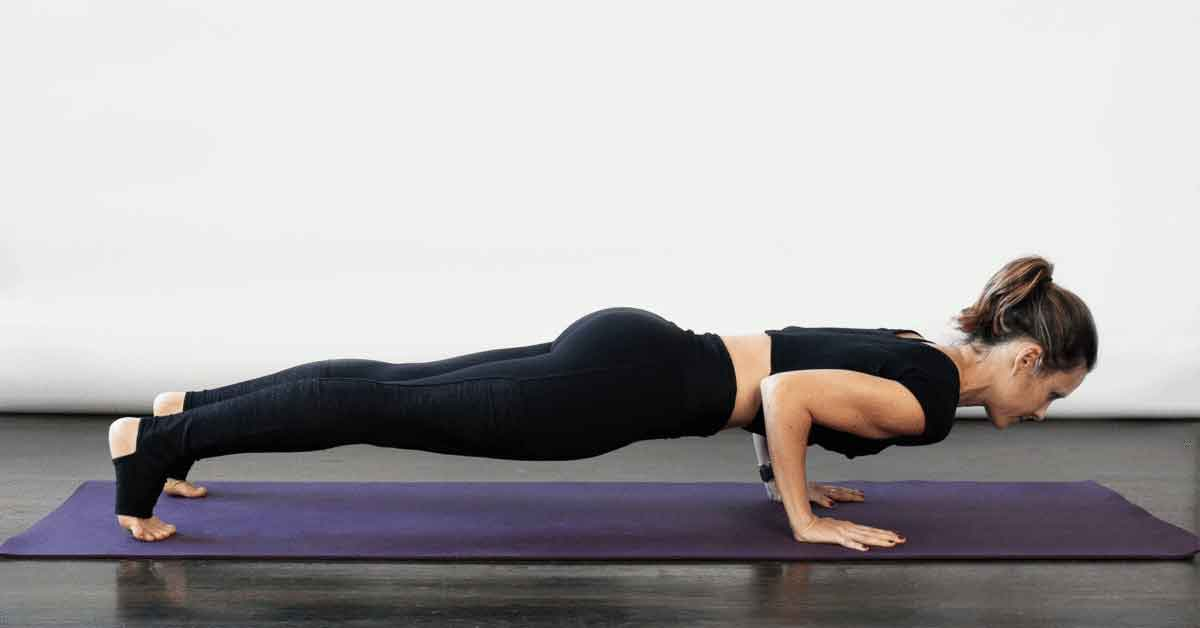 Vinyasa flow yoga 5 - Fitness before and after