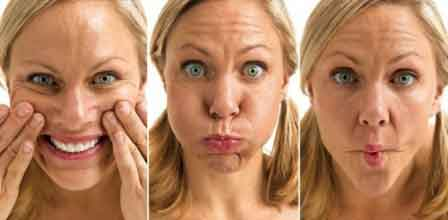 Facial yoga exercises 8