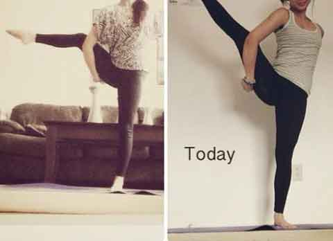 Yoga everyday for a year 14