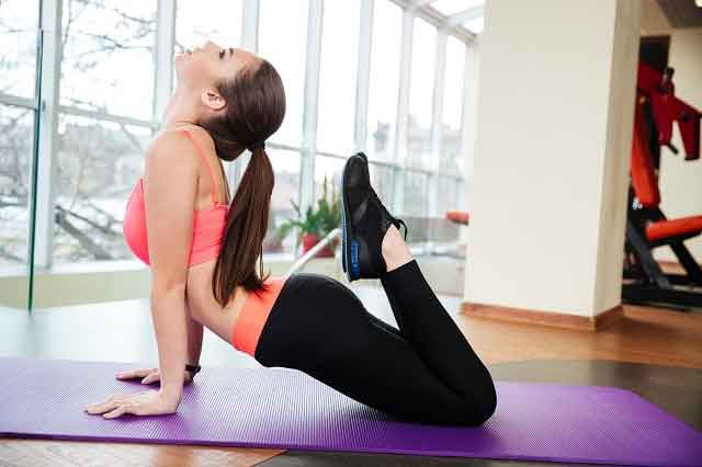 Weight loss with yoga 1