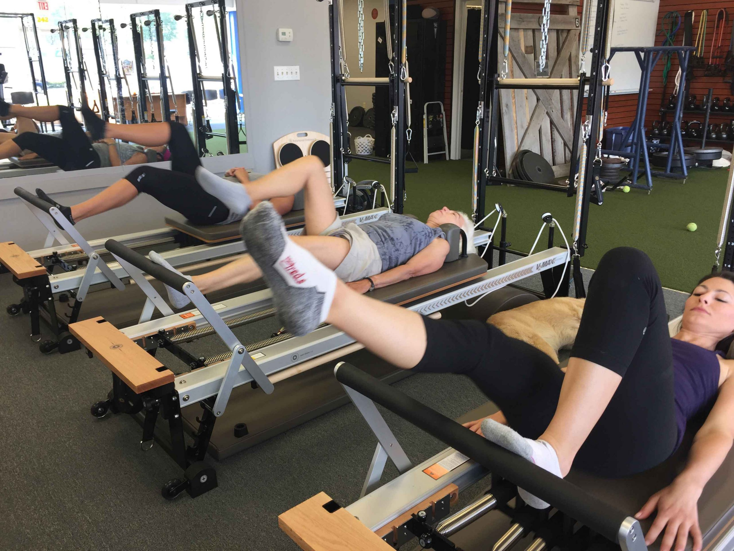 Pilates weight training 2