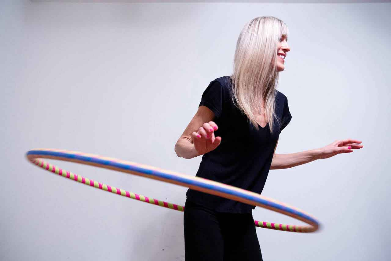 One month hula hoop pictures 4